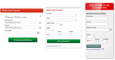 Booking box